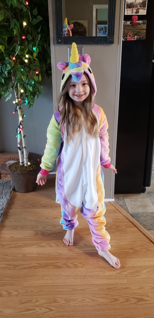 Super comfy unicorn!