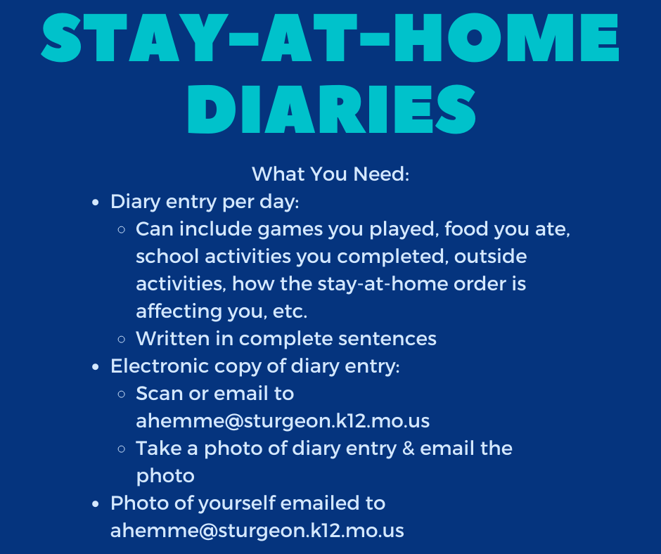 Stay-At-Home Diaries