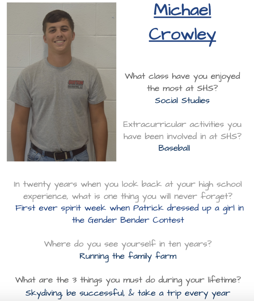 Michael Senior Spotlight