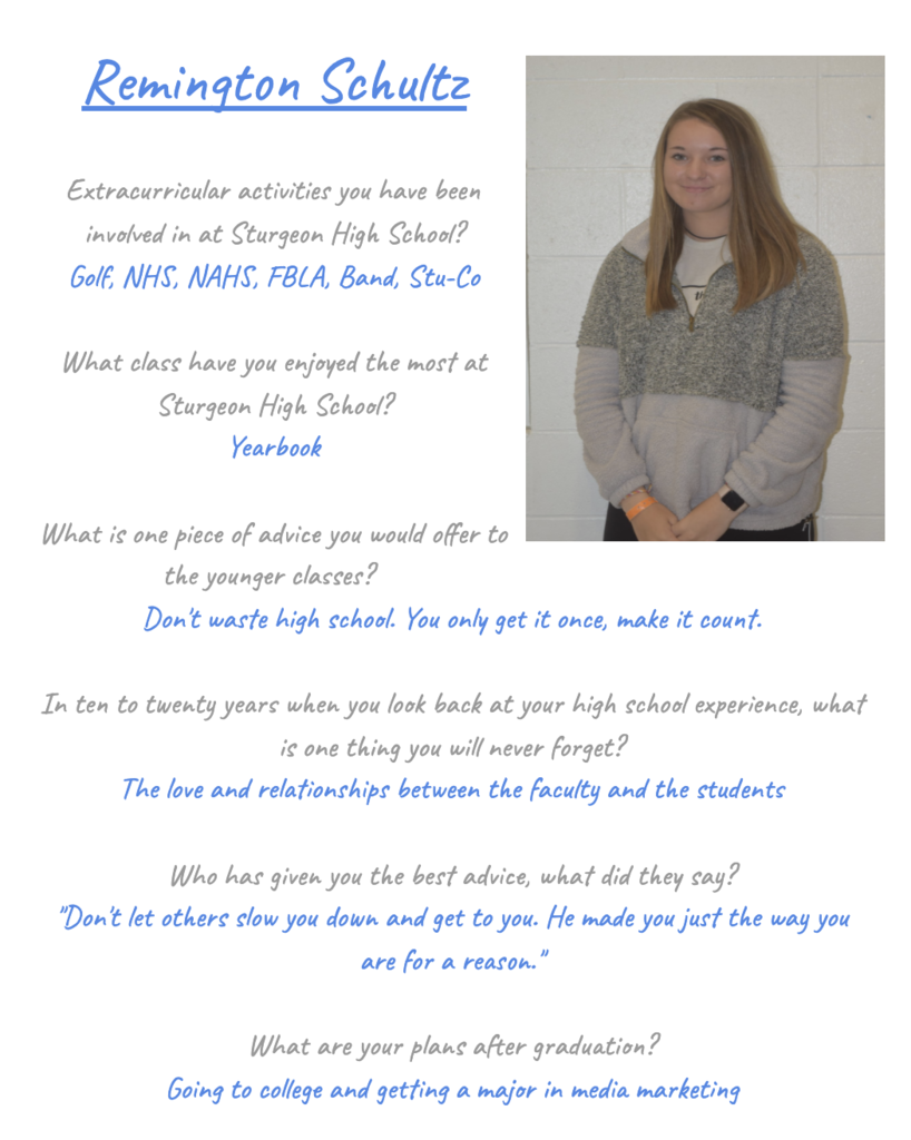 Remi Senior Spotlight